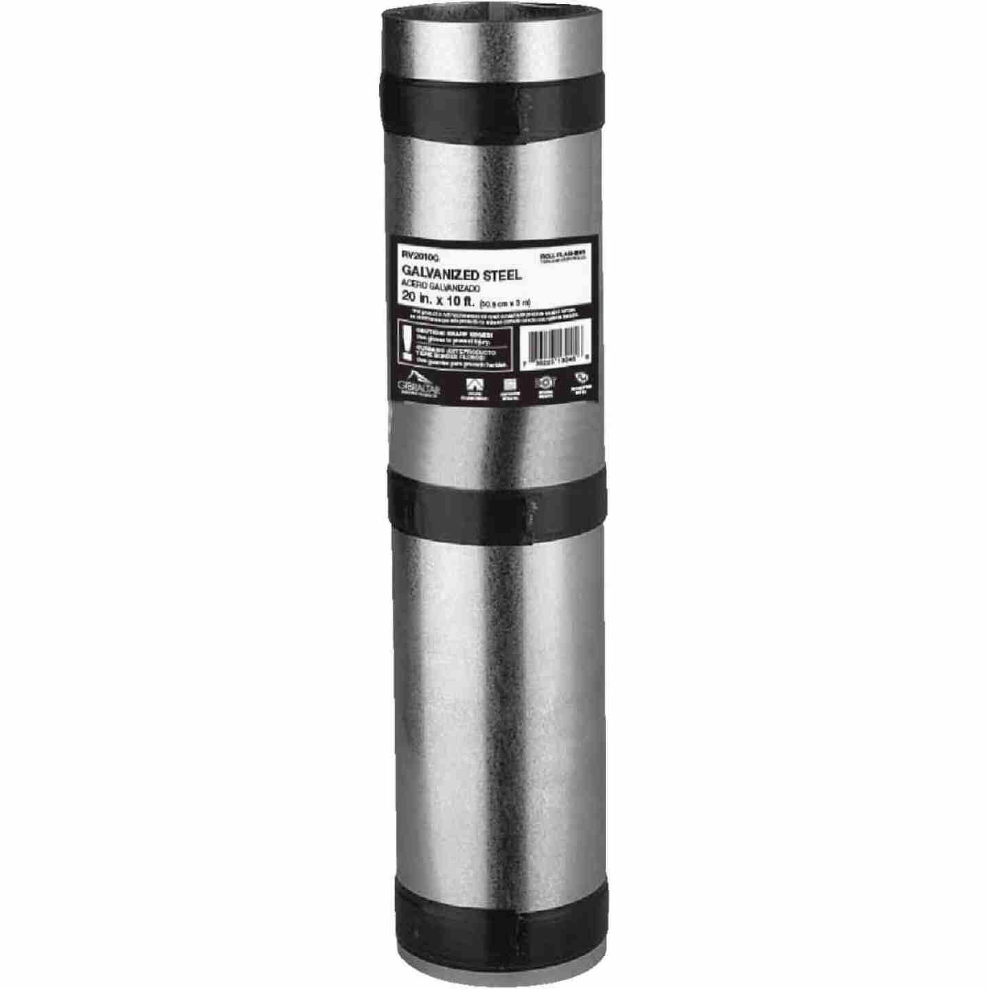 NorWesco 20 In. x 10 Ft. Mill Galvanized Roll Valley Flashing Image 1