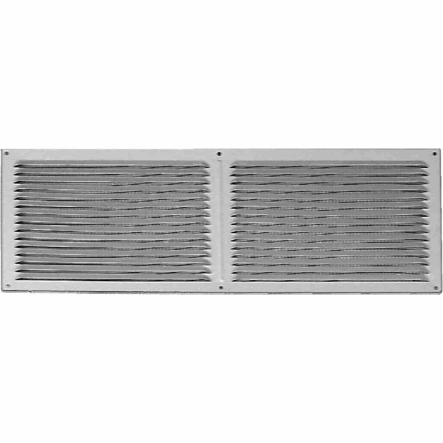 NorWesco 16 In. x 6 In. Galvanized Soffit Ventilator Image 1