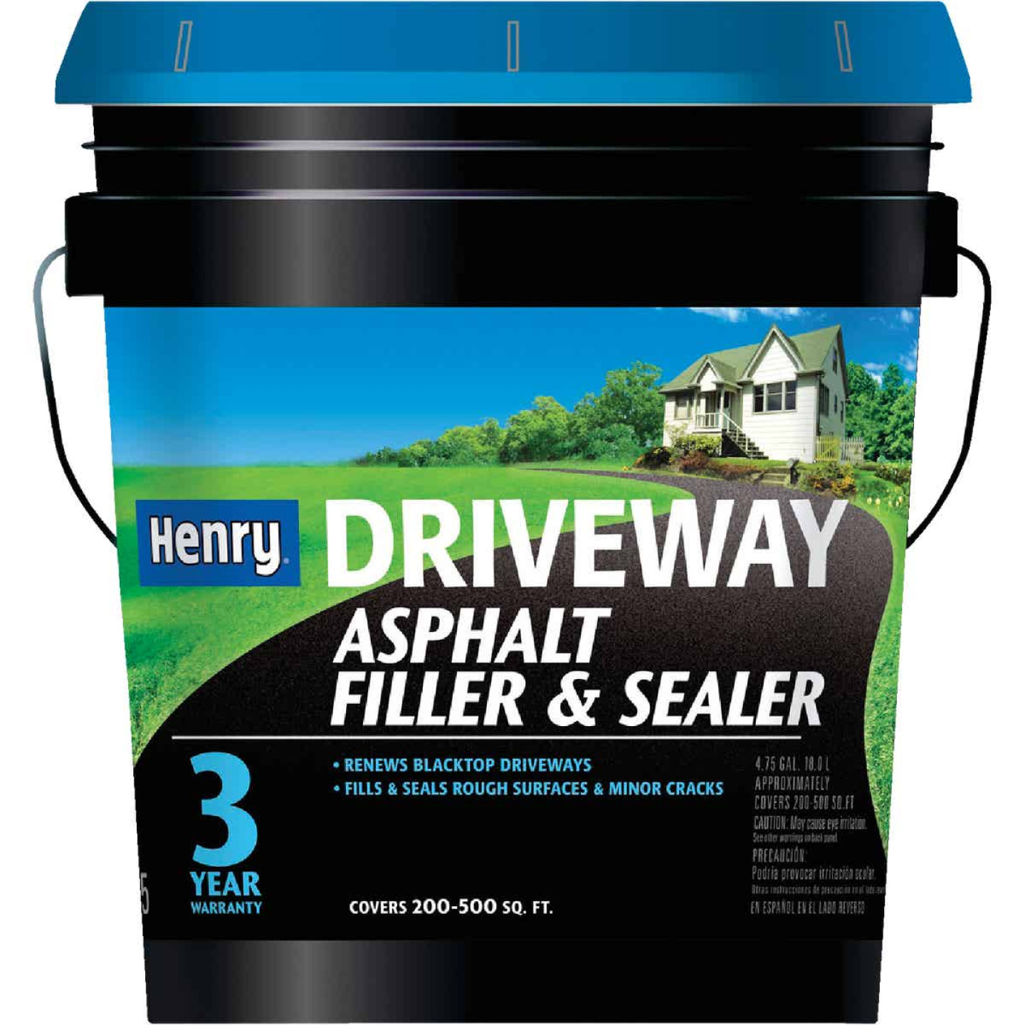 Henry 4.75 Gal. Blacktop Driveway Filler and Sealer, 3 Year Image 1