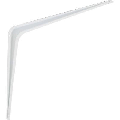 National 211 12 In. D. x 14 In. H. White Steel Shelf Bracket