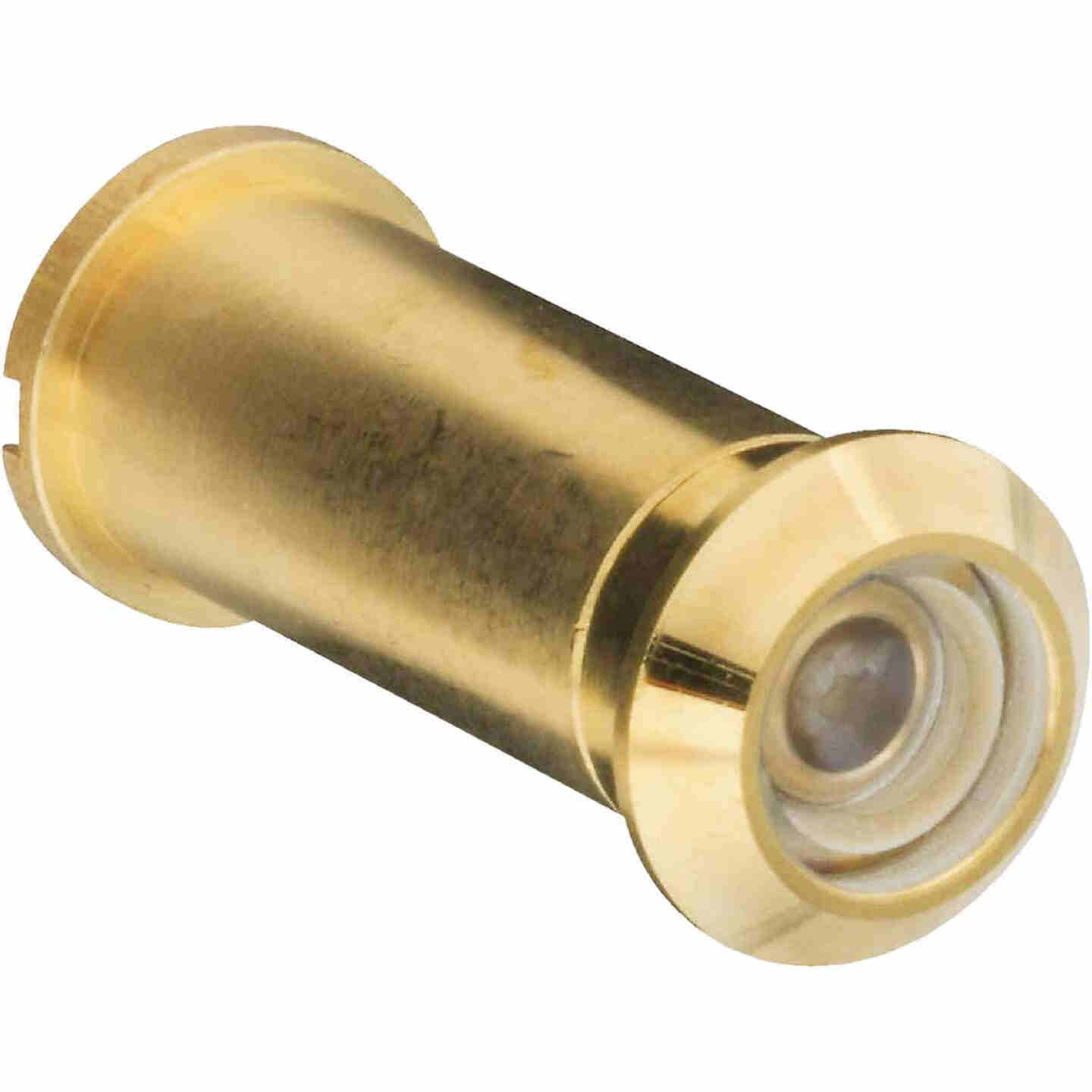 National Solid Brass 160 Degree Angle Door Viewer Image 1