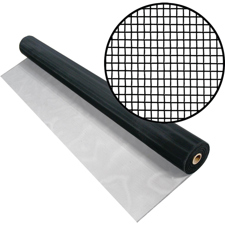 Phifer 30 In. x 100 Ft. Black Aluminum Screen Image 1