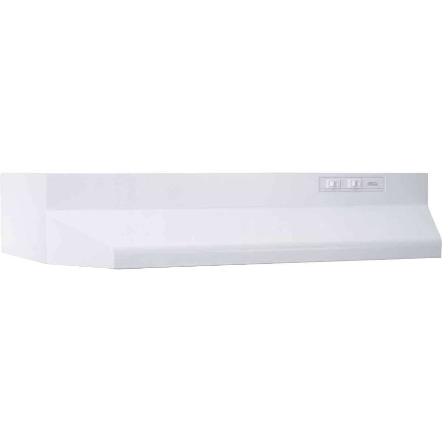 Broan-Nutone 40000 Series 30 In. Ducted White Range Hood Image 1