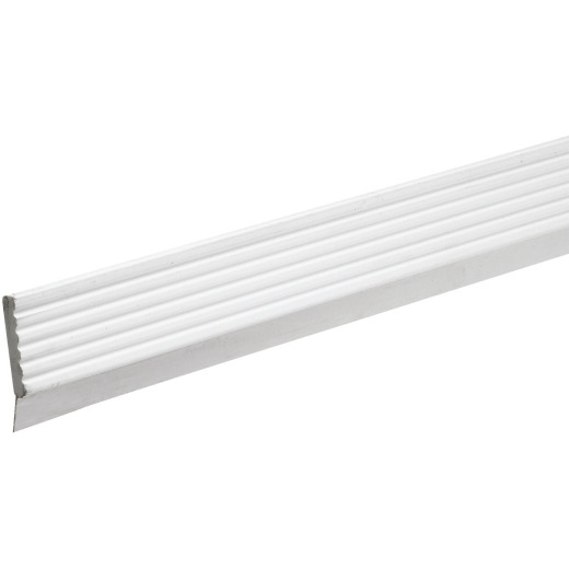 Do it 2-3/4 In. x 9 Ft. White Vinyl Top and Side Garage Door Seal with Sweep