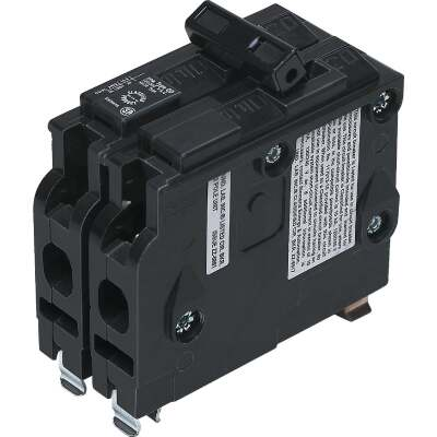 Connecticut Electric 20A Double-Pole Standard Trip Packaged Replacement Circuit Breaker For Square D