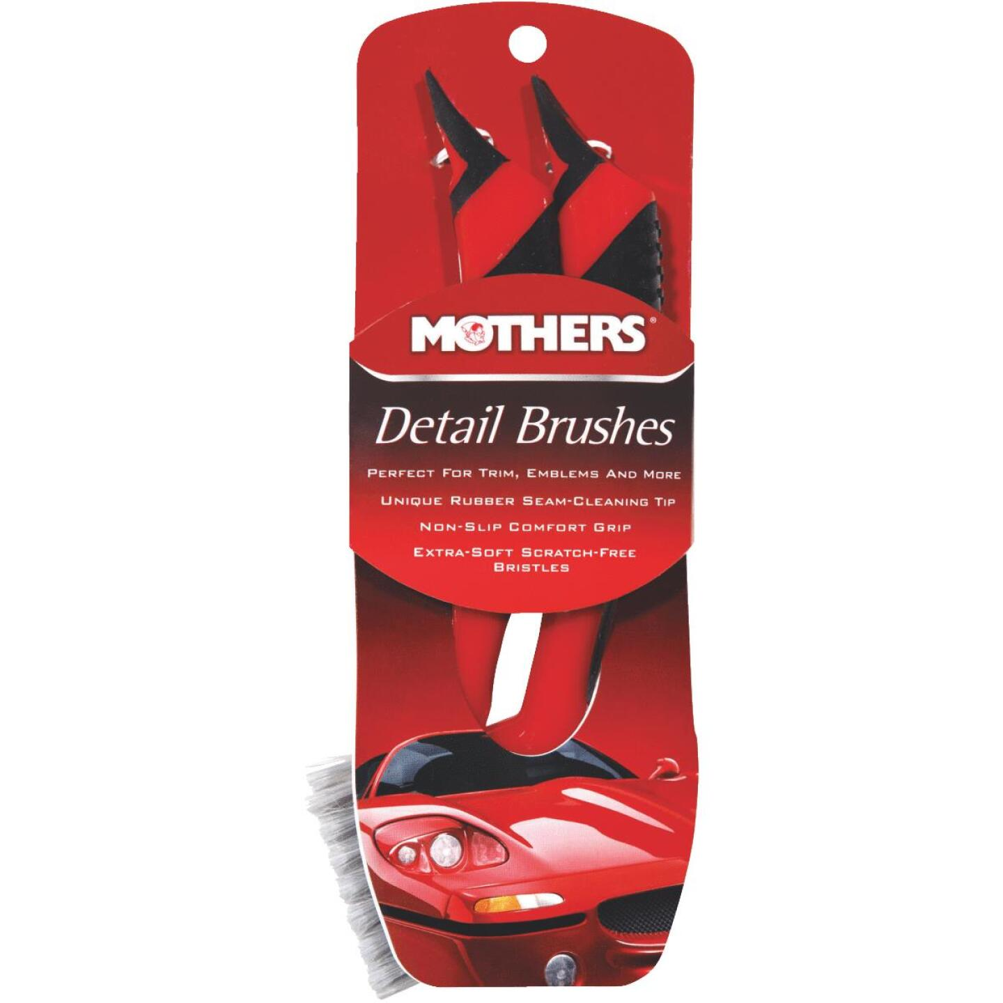 Mothers Detailing Brush (2-Pack) Image 1