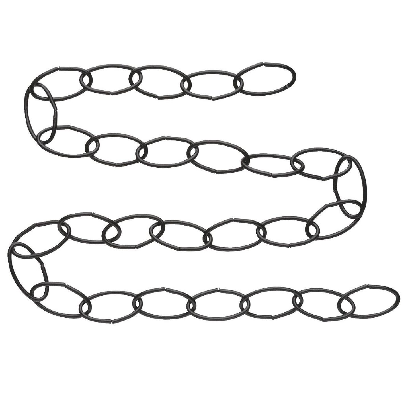 National 36 In. Black Metal Hanging Plant Extension Chain Image 2