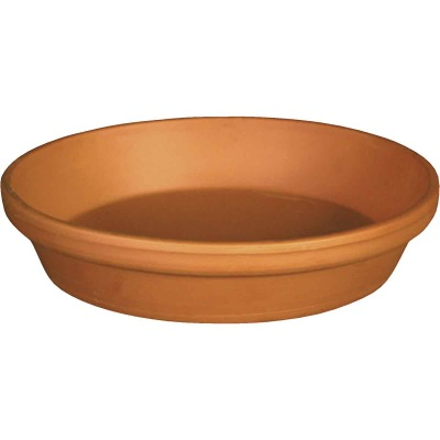 Ceramo 6 In. Terracotta Clay Standard Flower Pot Saucer