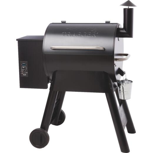 Traeger Pro Series 22 Blue 20,000-BTU 572 Sq. In. Wood Pellet Grill